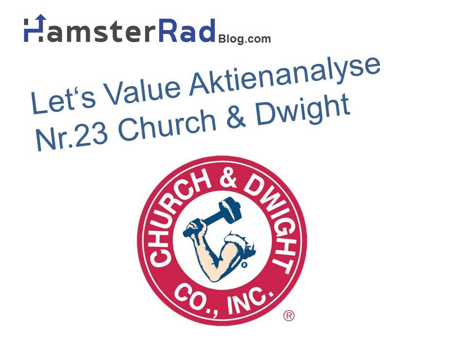 Titelbild Aktienanalyse Church & Dwight Aktie