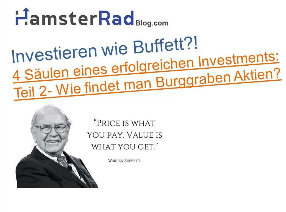 Investieren Wie Warren Buffett Teil 2 Burggraben Aktie Finden