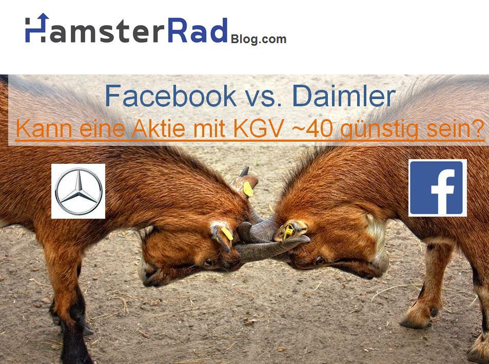Facebook vs. Daimler