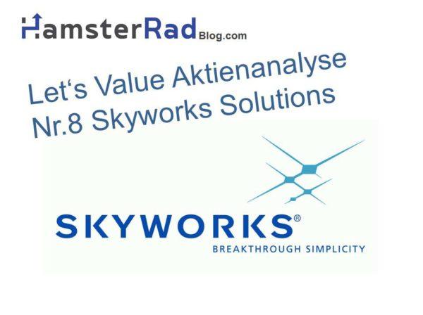 Die Aktienanalyse zur Skyworks Solutions Aktie