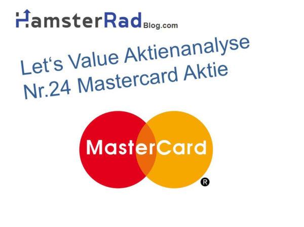 Titelbild Aktienanalyse Mastercard Aktie