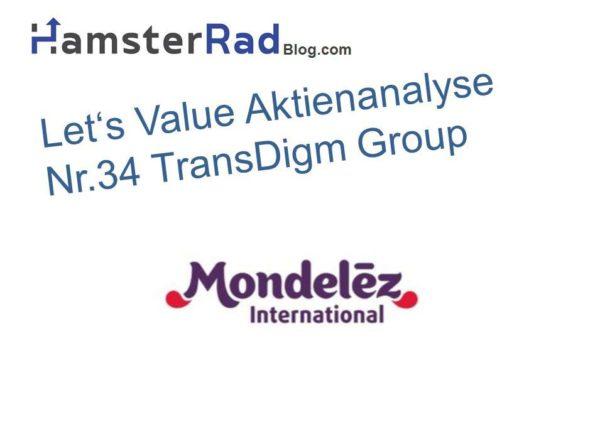 Das Titelbild zur Mondelez Aktie Aktienanalyse