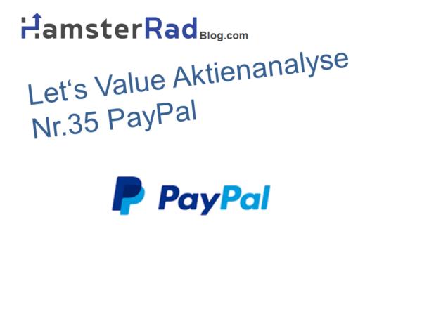 Titelbild Aktienanalyse Paypal