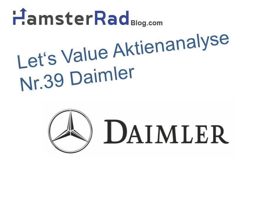 Analyse Daimler Aktie