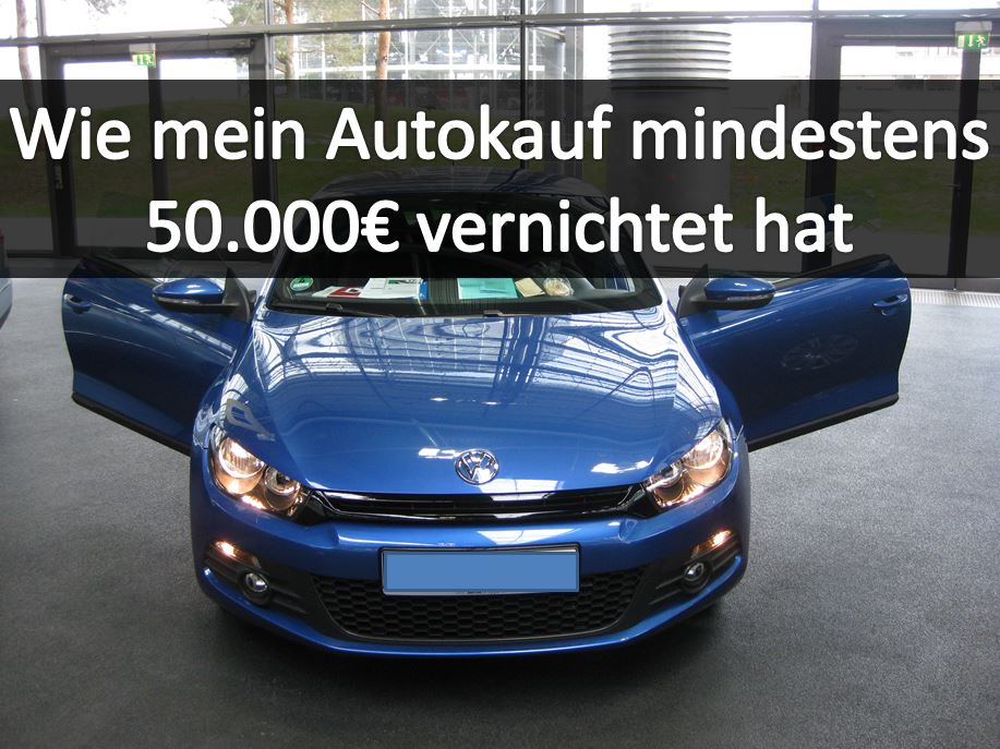 kauf dir bloß kein auto