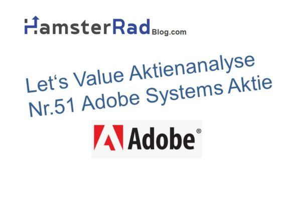 Fundamentalanalyse Adobe Aktie