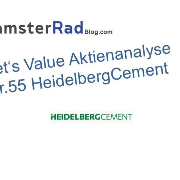 Aktienanalyse HeidelbergCement Logo